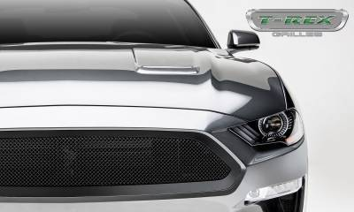 T-REX Grilles - 2018-2019 Mustang GT Upper Class Grille, Black, 1 Pc, Insert - PN #51550 - Image 7