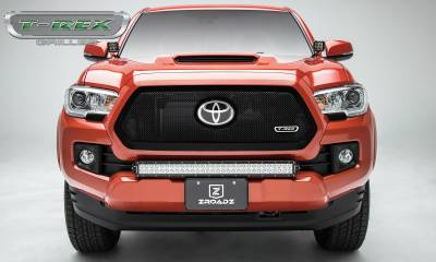 T-REX Grilles - 2018-2019 Tacoma Upper Class Grille, Black, 1 Pc, Insert - PN #51951 - Image 3