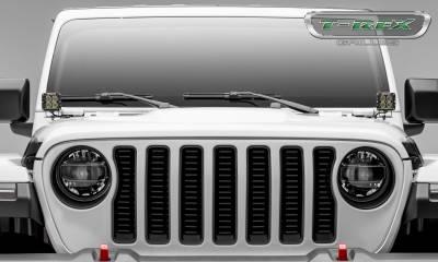 T-REX Grilles - Jeep Gladiator, JL Billet Grille, Black, 1 Pc, Insert, without Forward Facing Camera - PN #6204931 - Image 2