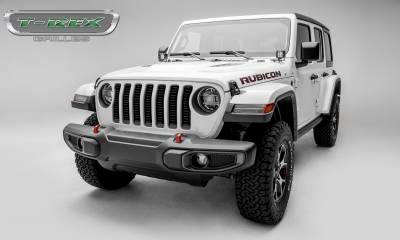 T-REX Grilles - 2018-2019 Jeep JL, JLU Billet Grille, Black, 1 Pc, Insert - PN #6204931 - Image 3