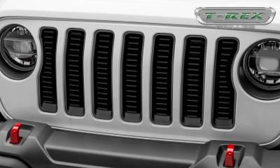 T-REX Grilles - 2018-2019 Jeep JL, JLU Billet Grille, Black, 1 Pc, Insert - PN #6204931 - Image 2