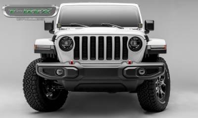 T-REX Grilles - 2018-2019 Jeep JL, JLU Billet Grille, Black, 1 Pc, Insert - PN #6204931 - Image 4