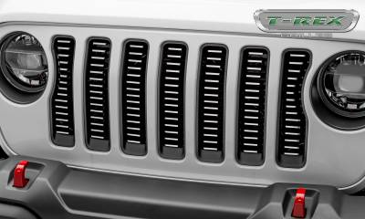 T-REX Grilles - Jeep Gladiator, JL Billet Grille, Brushed, 1 Pc, Insert,Does Not Fit Vehicles with Camera - PN #6204933 - Image 2