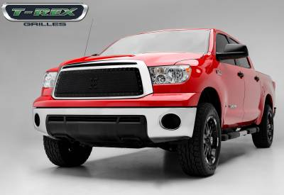 Stealth Series Grilles - T-REX Grilles - Toyota Tundra Stealth Metal Tactical Black Studded Main Grille - Pt # 6719631-BR