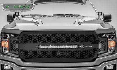 "T-REX Grilles - 2018-2019 F-150 ZROADZ Grille, Black, 1 Pc, Replacement, Incl. (1) 20"" LED, Fits Vehicles with Camera - PN #Z315811 - Image 2"
