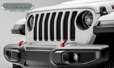 T-REX Grilles - 2018-2019 Jeep JL, JLU Sport Grille, Black, 1 Pc, Insert - PN #46493 - Image 2