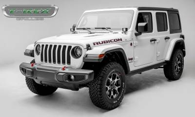 T-REX Grilles - Jeep Gladiator, JL Sport Series Grille, Black, 1 Pc, Insert, Does Not Fit Vehicles with Camera - PN #46493 - Image 5