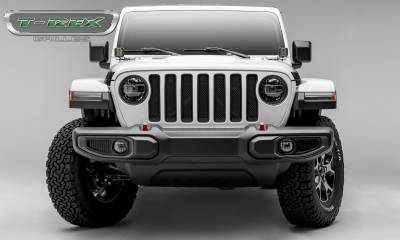 T-REX Grilles - Jeep Gladiator, JL Sport Series Grille, Black, 1 Pc, Insert, Does Not Fit Vehicles with Camera - PN #46493 - Image 4