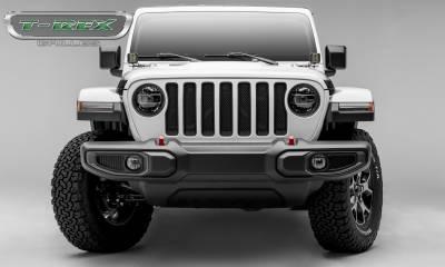T-REX Grilles - 2018-2019 Jeep JL, JLU Sport Grille, Black, 1 Pc, Insert - PN #46493 - Image 4