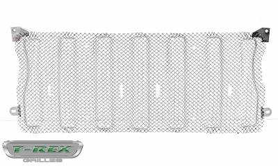T-REX Grilles - Jeep Gladiator, JL Sport Series Grille, Polished, 1 Pc, Insert, without Forward Facing Camera - PN #44493 - Image 6