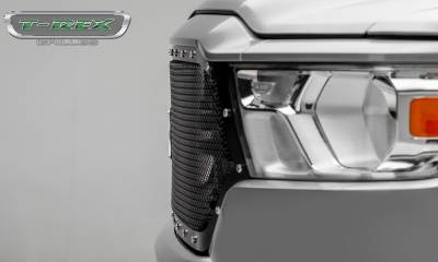 T-REX Grilles - 2019 Ram 1500 Laramie, Lone Star, Big Horn, Tradesman X-Metal Grille, Black, 1 Pc, Replacement, Chrome Studs - PN #6714651 - Image 6