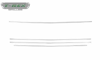 T-REX Grilles - 2019 Silverado 1500 Trailboss, RST, LT Round Billet Grille, Horizontal Round, Silver, 4 Pc, Overlay - PN #6211236 - Image 3