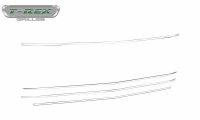T-REX Grilles - 2019 Silverado 1500 Trailboss, RST, LT Round Billet Grille, Horizontal Round, Silver, 4 Pc, Overlay - PN #6211236 - Image 7