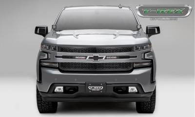"ZROADZ - 2019 Silverado 1500 ZROADZ Grille, Black, 1 Pc, Replacement, Incl. (2) 6"" LEDs - PN #Z311261 - Image 3"