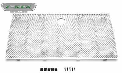 T-REX Grilles - 2007-2018 Jeep Wrangler Sport Series Formed Mesh Grille, Triple Chrome Stainless Steel - PN#44482 - Image 2