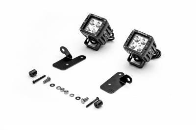 ZROADZ - 2018-2019 Jeep JL A Pillar LED Kit, Incl. (2) 3 Inch LED Pod Lights - PN #Z364941-KIT2 - Image 2