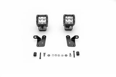 ZROADZ - 2018-2019 Jeep JL A Pillar LED Kit, Incl. (2) 3 Inch LED Pod Lights - PN #Z364941-KIT2 - Image 7
