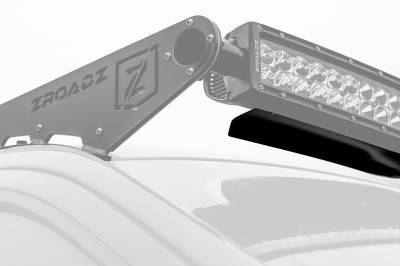 ZROADZ - Noise Cancelling Universal Wind Diffuser for (1) 52 Inch Curved Double Row LED Light Bar - PN #Z330052C - Image 2