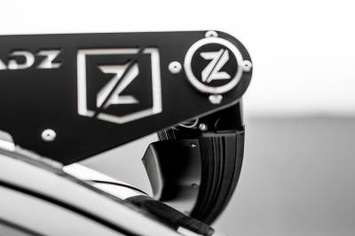 ZROADZ - Noise Cancelling Universal Wind Diffuser for (1) 52 Inch Curved Double Row LED Light Bar - PN #Z330052C - Image 3