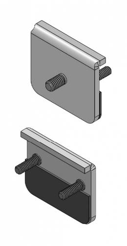ZROADZ - Universal Panel Clamp LED Bracket to mount (2) 3 Inch LED Pod Lights - PN #Z390002 - Image 5