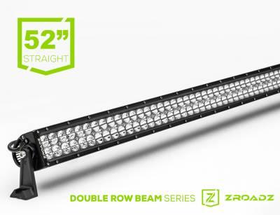 ZROADZ LED Mounting Solutions - ZROADZ - (1) 52 Inch ZROADZ LED Curved Double Row Light Bar - Z30CBC14W300