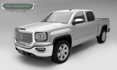 T-REX Grilles - 2016-2018 Sierra 1500 X-Metal Grille, Polished, 1 Pc, Insert, Chrome Studs - PN #6712130 - Image 2