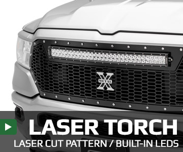 Laser Torch Series Grilles