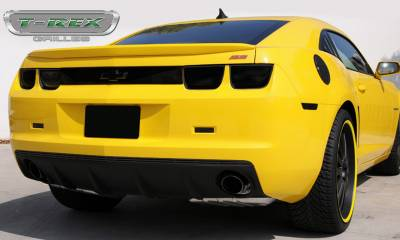 T-REX Grilles - 2010-2013 Camaro T1 Exterior Trim, Black, 2 Pc, Bolt-On - PN #12028B
