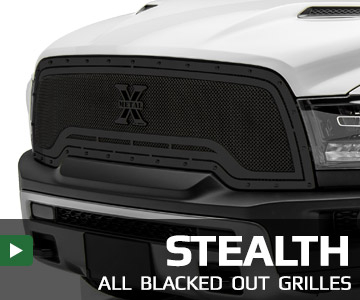 Stealth - All Blacked Out Grilles
