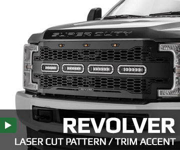 Revolver Series Grilles