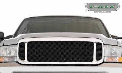 T-REX Grilles - 1999-2004 Super Duty Assembly Grille, Black, 1 Pc, Replacement - PN #50572 - Image 2
