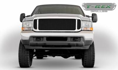 T-REX Grilles - 1999-2004 Super Duty Upper Class Grille, Black, 1 Pc, Insert - PN #51571