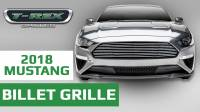 T-REX 2018-19 Ford Mustang Billet Grille