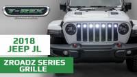 T-REX Jeep Wrangler JL ZROADZ Grille