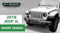 T-REX Jeep Wrangler JL Sport Grille