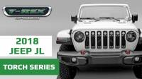 T-REX Jeep Wrangler JL Torch Grille