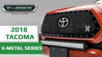 2018-19 T-REX Toyota Tacoma X-Metal Grille