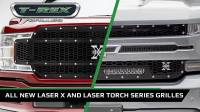 All New Laser X and Laser Torch Grilles from T-Rex Grilles