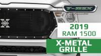 2019 Ram X-Metal Series Grille