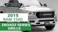 2019 Ram ZROADZ Series Grille