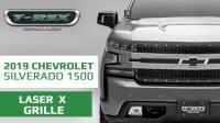 2019 Chevrolet Silverado 1500 Laser X Series Grille
