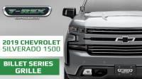 2019 Chevrolet Silverado Billet Series Grille