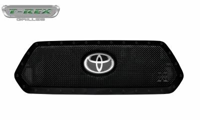 T-REX Grilles - 2018-2019 Tacoma Stealth X-Metal Grille, Black, 1 Pc, Insert, Black Studs - PN #6719511-BR - Image 5