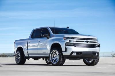 T-REX Grilles - 2019-2021 Silverado 1500 Trail Boss, RST, LT Round Billet Grille, Horizontal Round, Brushed, 4 Pc, Overlay, Does Not Fit Vehicles with Camera - PN #6211233 - Image 8