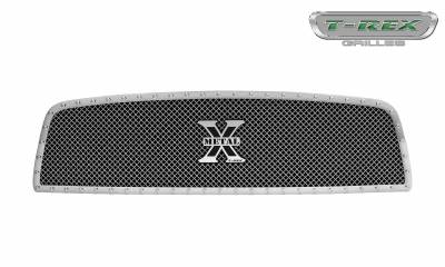 T-REX Grilles - 2009-2012 Ram 1500 X-Metal Grille, Polished, 1 Pc, Insert, Chrome Studs - PN #6714570 - Image 3