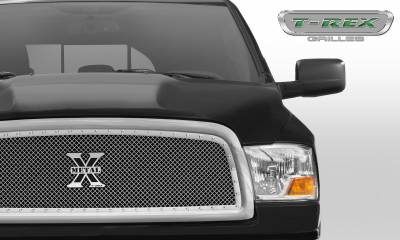 T-REX Grilles - 2009-2012 Ram 1500 X-Metal Grille, Polished, 1 Pc, Insert, Chrome Studs - PN #6714570 - Image 2
