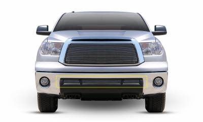 T-REX Grilles - 2010-2013 Tundra Billet Bumper Grille, Polished, 3 Pc, Overlay - PN #25961 - Image 1