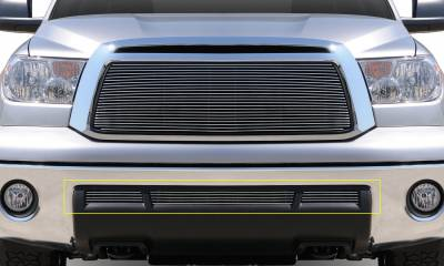 T-REX Grilles - 2010-2013 Tundra Billet Bumper Grille, Polished, 3 Pc, Overlay - PN #25961 - Image 2