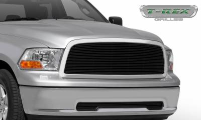 T-REX Grilles - Dodge Ram PU 1500 Billet Grille Insert - Black - 1 Pc - Pt # 20457B - Image 1