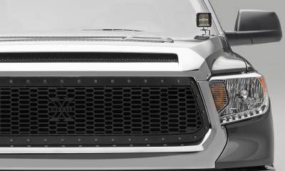 T-REX Grilles - 2014-2017 Tundra Stealth Laser X Grille, Black, 1 Pc, Replacement, Black Studs - PN #7719641-BR - Image 2